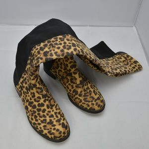 b7324cd242d Unisa Shoes - Unisa Gillean cheetah print thigh high boots♥